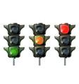 traffic light traffic light sequence vector image vector image