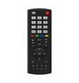 tv remote control vector image vector image