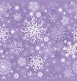 violet pastel seamless christmas pattern vector image