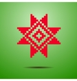 Belarusian national ornament vector image