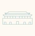 Beijing vector image vector image
