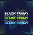 black friday banner poster or flayer template vector image vector image