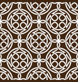 celtic knot abstract seamless pattern ornament vector image vector image