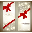 Christmas Cards Template vector image vector image