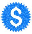 financial seal grunge icon vector image vector image
