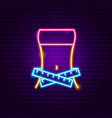 fitness dieting neon sign vector image vector image