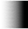 halftone fade texture duotone dots effect effect vector image