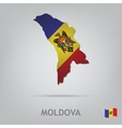 moldova vector image