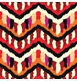 Painted Ethnic Pattern vector image vector image