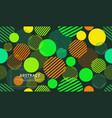 seamless circle geometric modern pattern vector image vector image