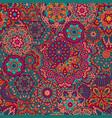 seamless pattern mandala ornament vector image vector image