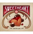 sweet dessert biscuit vector image vector image