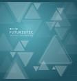 Triangle technology futuristic pattern on
