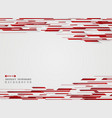abstract art technology red stripe line background vector image vector image