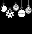 baubles hang vector image vector image