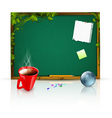 education theme vector image vector image