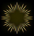 firework design element spark star eliment vector image