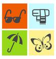 four season icon vector image vector image