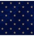 Gold stars pattern vector image