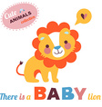 LionBaby vector image vector image