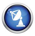 Satellite antenna icon vector image vector image