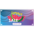 summer juicy abstract background design vector image vector image