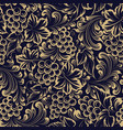 vine seamless pattern for package design old vector image vector image