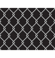 Steel mesh metalic fance black seamless background vector image