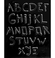 Hand Drawn Alphabet 02 A vector image