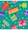 Seamless present pattern vector image