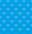 candies pattern seamless blue vector image vector image