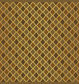 gold luxury moroccan motif tile pattern vector image vector image