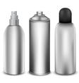 Spray bottle vector image