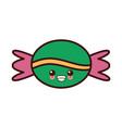 sweet bonbon candy kawaii cute cartoon vector image
