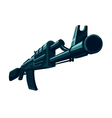The Automatic Weapon vector image vector image