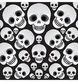 Skulls vector image