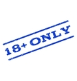18 Plus Only Watermark Stamp vector image vector image