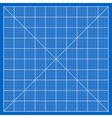 Blueprint paper vector image vector image
