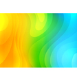 Colorful abstract waves background vector image vector image