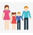 family icon image vector image vector image