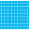 Five millimeters white grid on blue blueprint vector image vector image