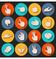 Hands Icons Set