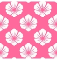 Wallpaper seamless with white flower vector image vector image