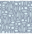 Seamless pattern with abstract square texture vector image