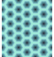Abstract seamless pattern of hexagons vector image