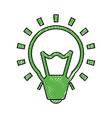 bulb light energy vector image vector image