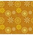 Christmas seamless pattern Light color snowflake vector image vector image