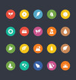 Glyphs Colored Icons 50 vector image vector image