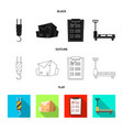 goods and cargo sign vector image vector image