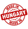 made in hungary vector image vector image